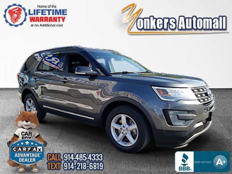 Used/Pre-owned 2017 FORD EXPLORER XLT 4WD Bronx,NY