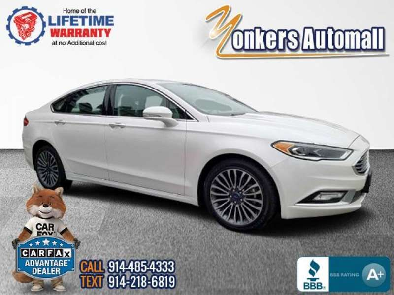 Used/Pre-owned 2017 FORD FUSION SE AWD Bronx,NY