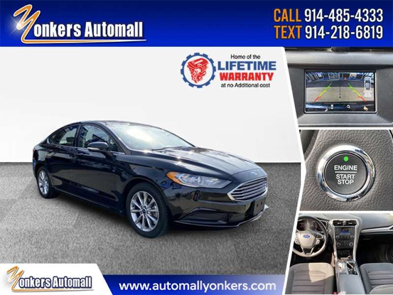 Used/Pre-owned 2017 FORD FUSION SE FWD Bronx,NY