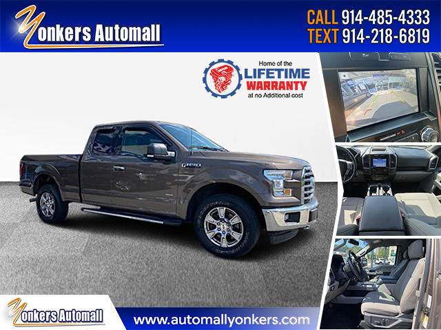 Used/Pre-owned 2017 Ford F-150 XLT 4WD SuperCab 6.5' Box Bronx,NY