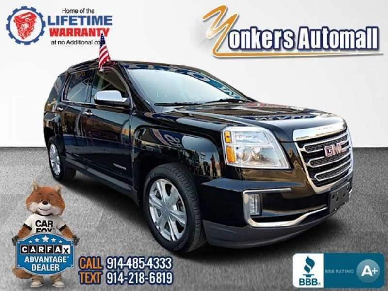 Used/Pre-owned 2017 GMC TERRAIN AWD 4dr SLT Bronx,NY