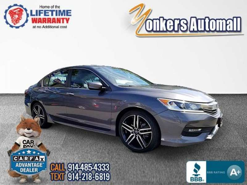Used/Pre-owned 2017 HONDA ACCORD SEDAN Sport CVT PZEV Bronx,NY