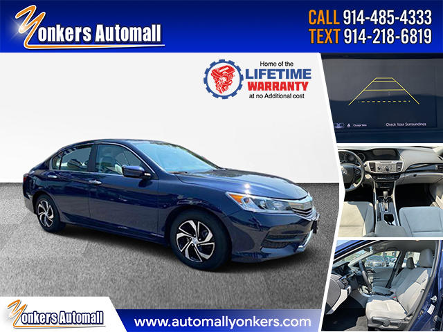 Used/Pre-owned 2017 Honda Accord Sedan LX CVT Bronx,NY