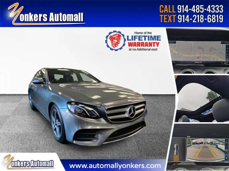 Used/Pre-owned 2017 MERCEDES-BENZ E-CLASS E 300 Sport 4MATIC Sedan Bronx,NY