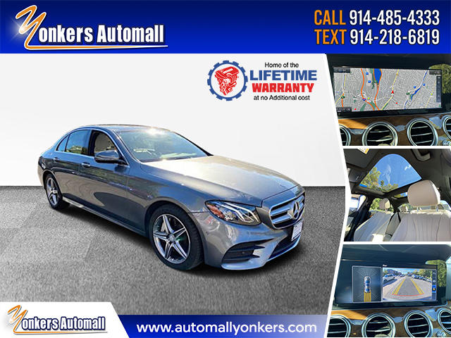 Used/Pre-owned 2017 Mercedes-Benz E-Class E 300 Luxury 4MATIC Sedan Bronx,NY