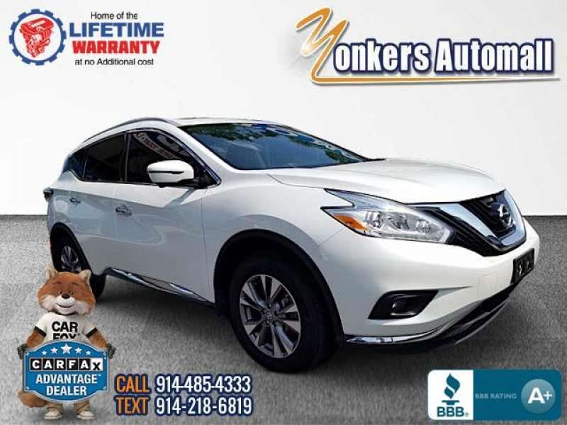 Used/Pre-owned 2017 NISSAN MURANO AWD SL Bronx,NY