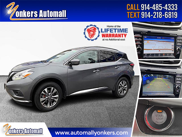 Used/Pre-owned 2017 Nissan Murano 2017.5 AWD SV Bronx,NY