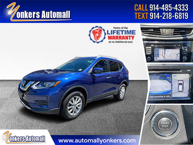 Used/Pre-owned 2017 Nissan Rogue AWD SV Premium Package Bronx,NY