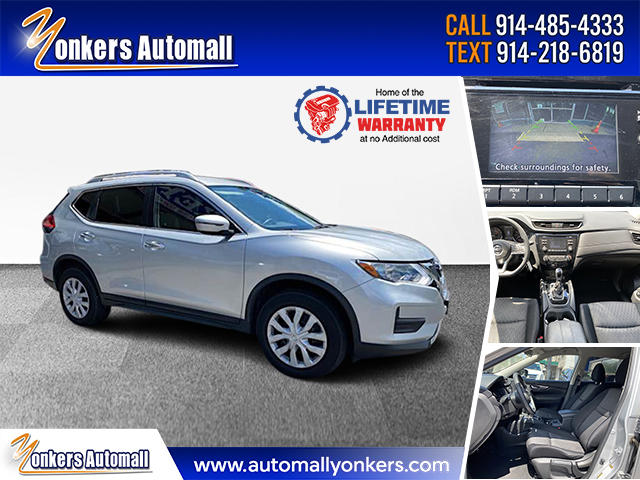 Used/Pre-owned 2017 Nissan Rogue AWD S Bronx,NY