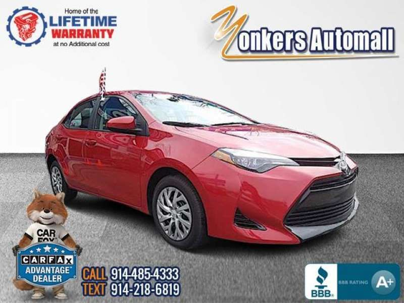 Used/Pre-owned 2017 TOYOTA COROLLA LE CVT Automatic (Natl) Bronx,NY