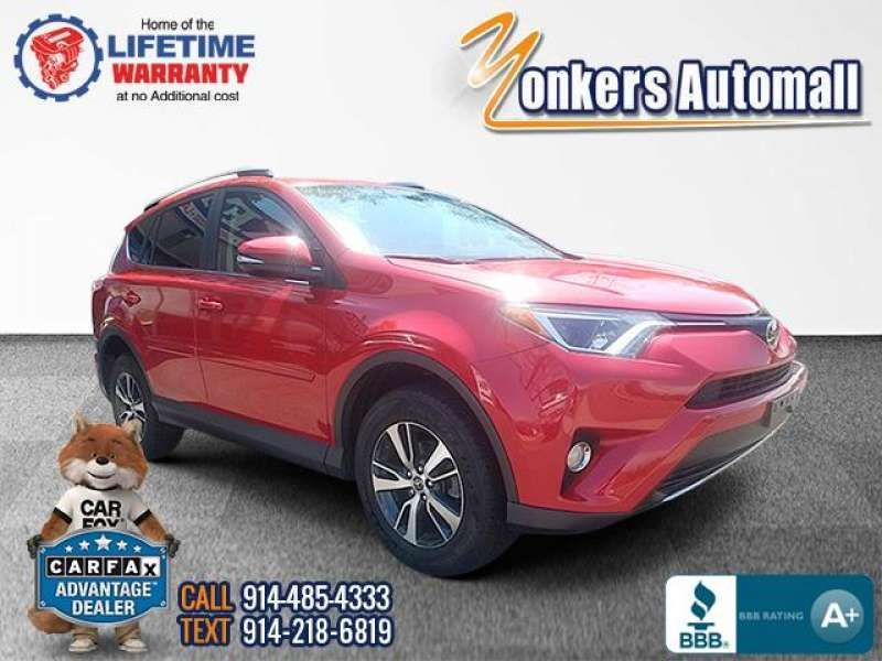 Used/Pre-owned 2017 TOYOTA RAV4 XLE AWD  Bronx,NY