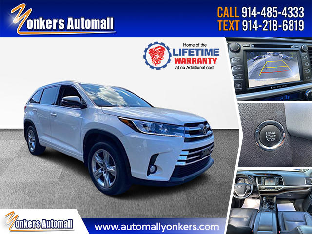 Used/Pre-owned 2017 Toyota Highlander Limited V6 AWD  Bronx,NY