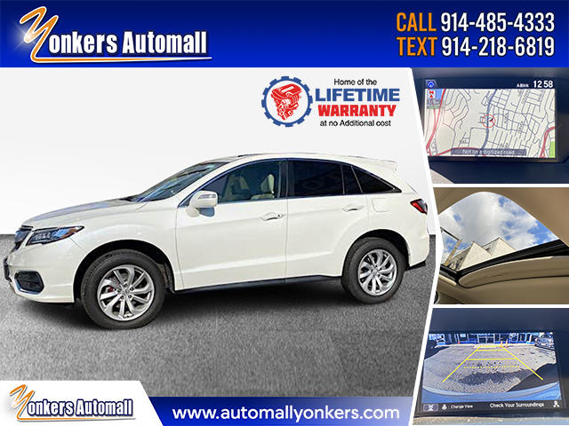 Used/Pre-owned 2018 Acura RDX AWD w/Technology Pkg Bronx,NY