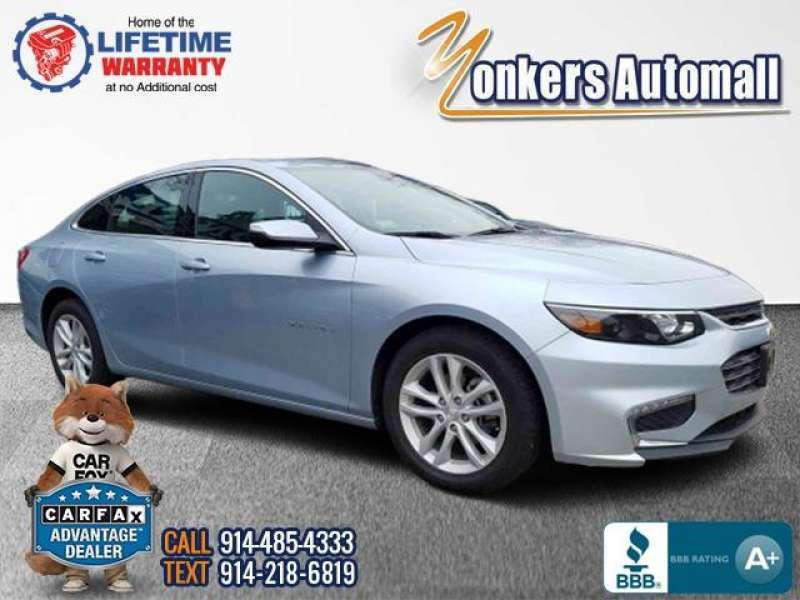 Used/Pre-owned 2018 CHEVROLET MALIBU 4dr Sdn LT w/1LT Bronx,NY