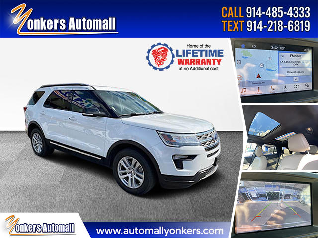 Used/Pre-owned 2018 Ford Explorer XLT 4WD Bronx,NY