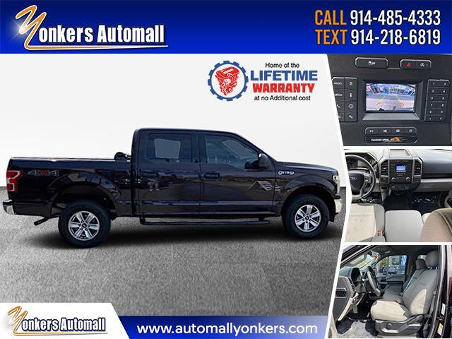 Used/Pre-owned 2018 Ford F-150 XLT 4WD SuperCrew 6.5' Box Bronx,NY