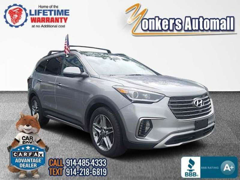 Used/Pre-owned 2018 HYUNDAI SANTA FE Limited Ultimate 3.3L Auto AWD Bronx,NY