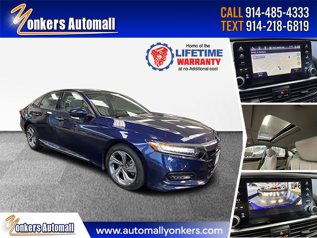 Used/Pre-owned 2018 Honda Accord Sedan Touring 1.5T CVT Bronx,NY