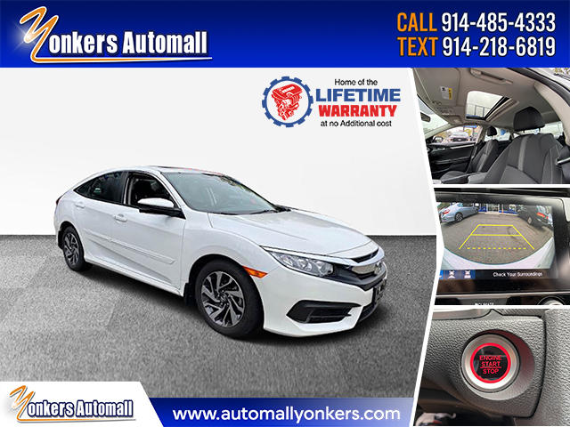 Used/Pre-owned 2018 Honda Civic Sedan EX  Bronx,NY