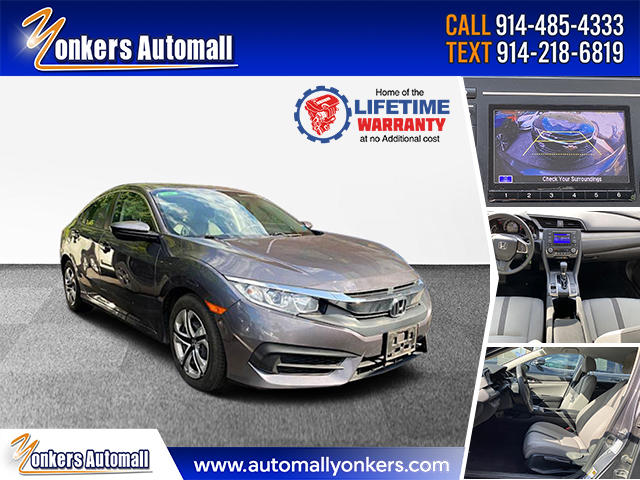 Used/Pre-owned 2018 Honda Civic Sedan LX  Bronx,NY