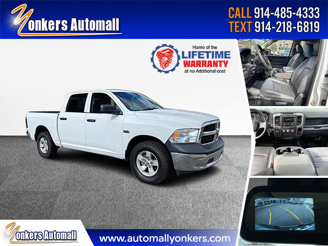 Used/Pre-owned 2018 Ram 1500 Tradesman 4x4 Crew Cab 5'7