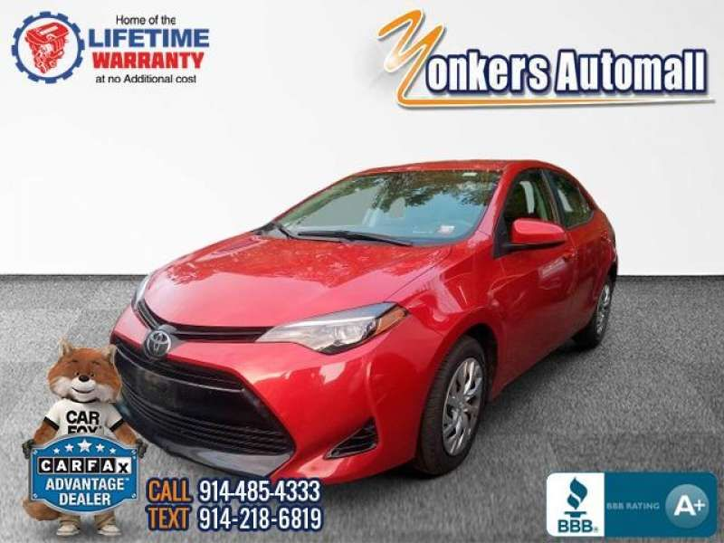 Used/Pre-owned 2018 TOYOTA COROLLA LE CVT  Bronx,NY