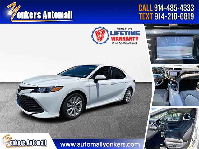 Used/Pre-owned 2018 Toyota Camry LE  Bronx,NY