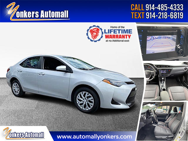Used/Pre-owned 2018 Toyota Corolla LE  Bronx,NY
