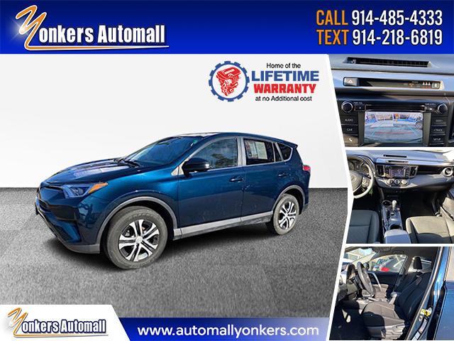 Used/Pre-owned 2018 Toyota RAV4 LE AWD  Bronx,NY