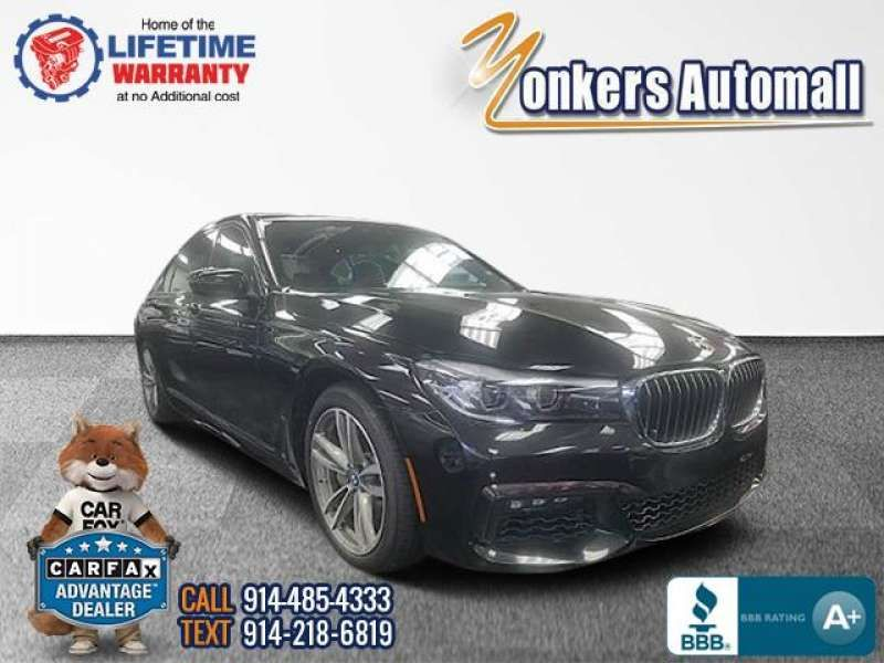 Used/Pre-owned 2019 BMW 740 i xDrive Sedan M Sport Bronx,NY