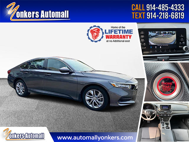 Used/Pre-owned 2019 Honda Accord Sedan LX 1.5T CVT Bronx,NY
