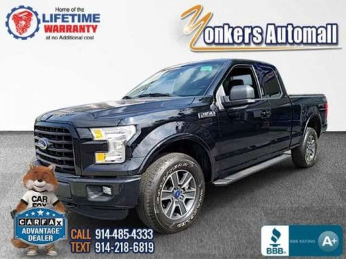 2016 Ford F150 SuperCab