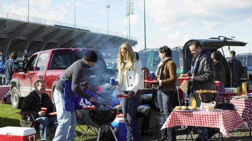 Tailgating in the Fall